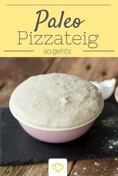 Zur Steinzeiternährung hat Pizza höchstwahrscheinlich nicht gehört, doch dank diesem Pizzateig ist sie mit der Paleo-Ernährungsweise vereinbar. Drauf kommt was schmeckt!