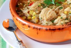 BBQ Chicken Pizza Soup http://www.recipes-fitness.com/bbq-chicken-pizza-soup/