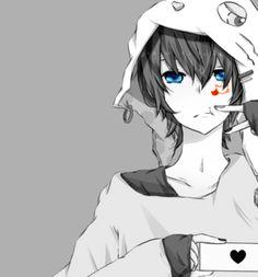 Soraru | Monochrome | Anime | Manga | Bishounen | Pixiv | Zerochan