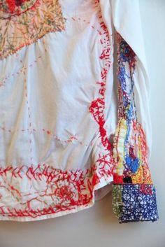 Repair | Stitching detail | Color しょうぶ学園― ものづくり、アート、創造性 ― その1 好きなものをつくり、幸せでいること 鹿児島の障がい者施設から | アネモメトリ -風の手帖-