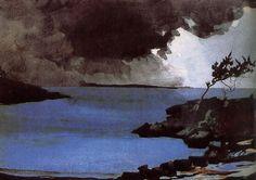 Winslow Homer Watercolors | ArtSmartTalk: Stormy Art for Stormy Weather