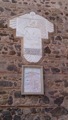 Placa homenaje al gran escritor Gustavo Adolfo Becker, Toledo