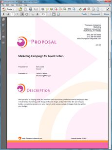 Advertising Campaign Services Sample Proposal - Create your own ...
