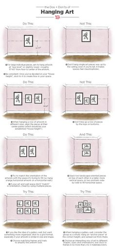 Dos and Don'ts of Hanging Art: Tips & Measurements | Apartment Therapy