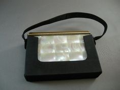 Mid Century Compact Purse by VOLUPTE' Mother of by cerritorose, $65.00