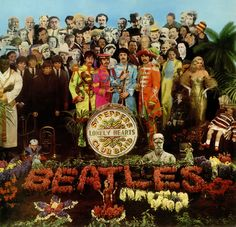 The Beatles Sergeant Pepper's Lonely Hearts Club Band album cover