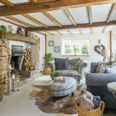 sussex cottage country interiors east idealhome medieval turn around tour take homes november