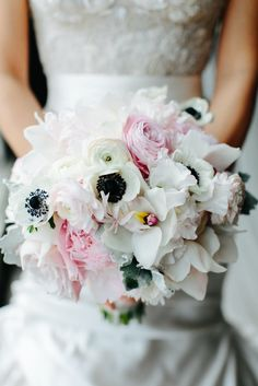 Anemone Bridal Bouquet | Sweetchic Events, Inc. https://www.theknot.com/marketplace/sweetchic-events-inc-chicago-il-278231 | Vale of Enna https://www.theknot.com/marketplace/vale-of-enna-chicago-il-594021 | Pen Carlson Photography https://www.theknot.com/marketplace/pen-carlson-photography-chicago-il-199765