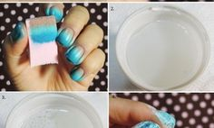 Beach Waves Inspired Nail Art That You Will Love, When You Go To Beach