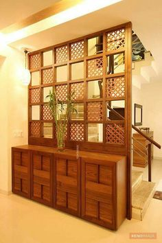 Inspiring Indian Home Design Ideas. Indian home design ideas must be unique and interesting ideas to apply inside your home. The different cultures of India is … home design inspiring indian home design ideas 301952350018531986 Living Room Partition Design, Room Partition Designs, Living Room Divider, Partition Ideas, Wall Partition, Indian Interior Design, Indian Home Design, Indian Home Decor, Plafond Design