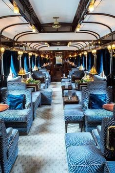 Stacie Flinner Belmond Venice Simplon Orient Express You are in the right place about Budget Travel tips Here we Train Car, Train Rides, Train Travel, Train Trip, Family Vacation Destinations, Travel Destinations, Vacations, Luxury Travel, Luxury Cars