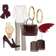 """Fall business casual"" by jmericnpie on Polyvore"