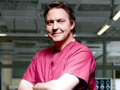 Born: March 1966 ~ Bob Barrett is an English stage and television actor who is best known for his role as Dr. Sacha Levy in the medical drama Holby City. Medical Tv Shows, Medical Drama, Hospital Tv Shows, City Hospital, Holby City, Bbc One, Drama Series, Celebs, Celebrities