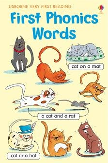 """""""Very First Reading: First phonics words"""" at Usborne Children's Books Phonics Books, Teaching Phonics, Phonics Activities, Kindergarten Phonics, Teaching Vocabulary, Learning Activities, Literacy, Preschool, First Reading Books"""