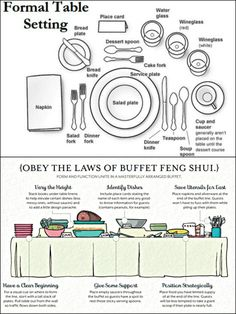 THANKSGIVING: helpful hints for entertaining and table settings.