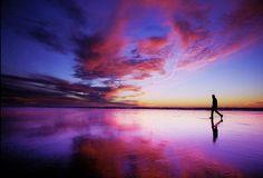 Sunset Beach Walker
