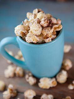Hot Chocolate Popcorn:  Prep Time: 5 Minutes Cook Time: 5 Minutes Makes: About 6 Cups
