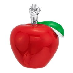 Blue Nile Red Apple Charm in Sterling Silver ($55) ❤ liked on Polyvore