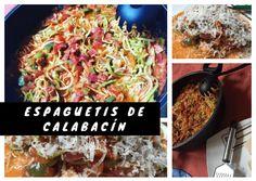 Receta casera, fácil y saludable de espaguetis de calabacín en salsa de tomate. El calabacín es un protector natural del sistema cardiovascular.  #comidacasera #alimentacionsaludable