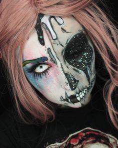 #sfxmakeup #sfx #gore #halloweenmakeup #skull @m.e.y.makeup