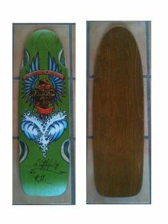 Bulldog Skates BDS OG Quad 10 Collectible Skateboard Deck Wes Humpston Dogtown
