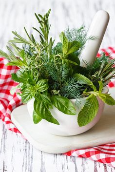 Herbs! Just about all of them are digestive aids, and they're often high in anti-oxidants as well. Use with abandon, because eating safely for IBS does not mean bland, boring food!