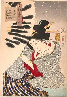 Yoshitoshi_Tsukioka-32_Aspects_of_Customs_Manners_of_Women-Looking_Frozen-00035495-060205-F12.jpg 835×1 200 пиксел.