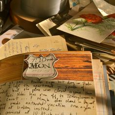 Mary Ann Moss Love her travel journals!