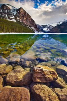 Banff National Park's legendary Lake Louise. By Chris Lazzery
