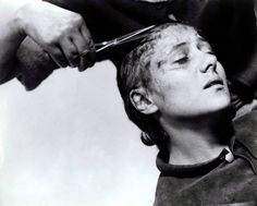 "Maria Falconetti in ""La Passion de Jeane d'Arc"" (Carl Theodor Dreyer, 1927)"