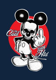 Mickey Mouse Tattoos, Mickey Mouse Art, Mickey Mouse Wallpaper, Classic Cartoon Characters,