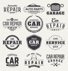 Find Typographic Car Service Label Design Set stock images in HD and millions of other royalty-free stock photos, illustrations and vectors in the Shutterstock collection. Car Repair Garages, Garage Repair, Auto Parts Shop, Red Sports Car, Car Backgrounds, Label Design, Design Set, Logo Design, Graphic Design