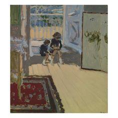 Children In A Room - Edouard Vuillard - Hermitage Museum Pierre Bonnard, Edouard Vuillard, Hermitage Museum, Illustration Art, Illustrations, Paintings I Love, Art Plastique, Anime Comics, Les Oeuvres
