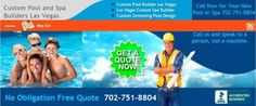 702-751-8804 Custom Swimming Pool and Spa Builder Las Vegas