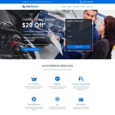 Vanilla water park website template parks water and template car repair responsive website template maxwellsz