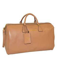 Look at this Adrienne Vittadini Natural Classic Satchel on #zulily today!