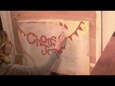 I love this video that Stephanie Corfee created while painting her Choose Joy piece for the Team Ashley auction!