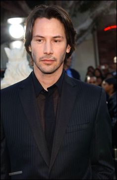 WHY DO WE LOVE KEANU? Because of that faraway look he gets in his eyes sometimes... (chicfoo) keanu
