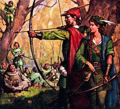 El fraile que robaba en la banda de Robin Hood