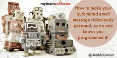 While automated emails don't replace the personal touch, autoresponders are magical for making customers feel valued by contributing to the way we interact.