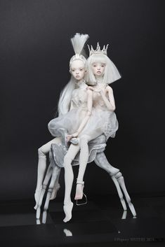 """Heralded as the """"new wave of Russian art-doll designers"""", Elena and Ekaterina Popovy' talk to The Forest."""
