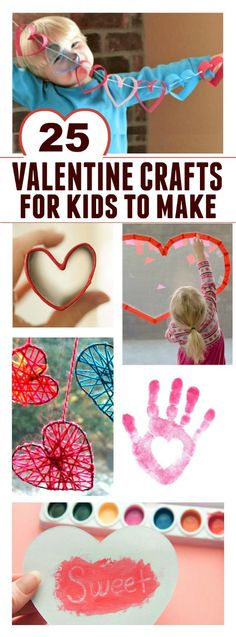 Need some great ideas of Valentines for kids to make this year? Check out this roundup- sure to keep the kids busy with Valentine projects all February long!