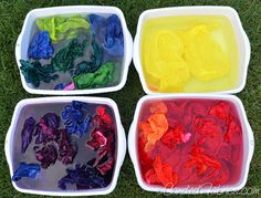 To reduce the amount of water to rinse items dyed with fiber reactive dye, soak them for several hours, changing the water twice, before washing.