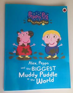 Peppa Pig Personalised Book - 'With two Peppa Pig obsessed children, there was no question of which ones we were going to choose!'