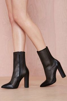 Shoe Cult Holy Grail Leather Bootie