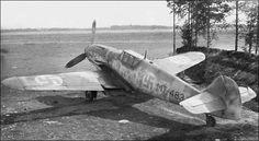 Messerschmitt Bf 109 W. Aate Lassila, Utti, September Finland possessed two model aircraft Aircraft Propeller, Ww2 Aircraft, Fighter Aircraft, Fighter Jets, Finnish Air Force, Old Warrior, Ww2 Planes, Aircraft Design, Luftwaffe