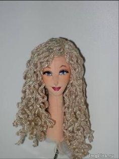 Вышиваем лицо кукле