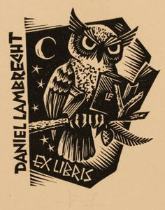 Art-exlibris.net - exlibris by Frans Lasure for Daniel Lambrecht