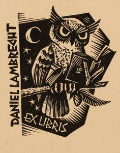Art-exlibris.net - exlibris by Frans Lasure for Daniel Lambrecht