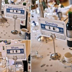 I'm more for table names than numbers. I already have names picked out haha :)